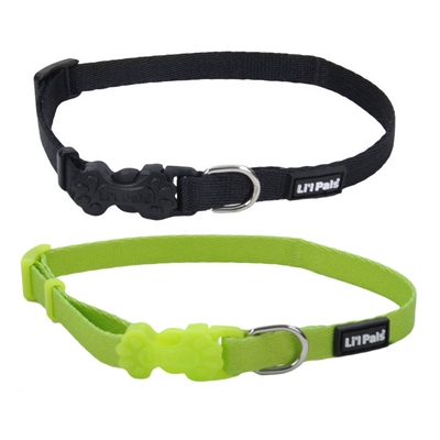 Li'l Pals Adjustible Collars & Leads for Puppies and Petite Dogs