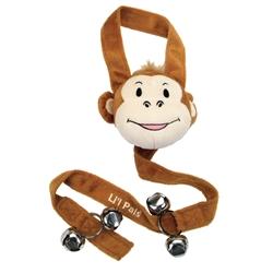 """27"""" Li'l Pals Training Bells Monkeys"""