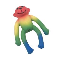 """Li'l Pals 4""""Latex Toy Multi Monkey"""