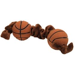 "8"" Li'l Pals Plush and Vinyl Basketball Tug Toy"
