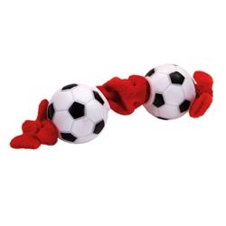 """8"""" Li'l Pals Plush and Vinyl Soccer Ball Tug Toy"""