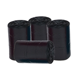 Waste Bag Refill - Black - 27 bags per roll
