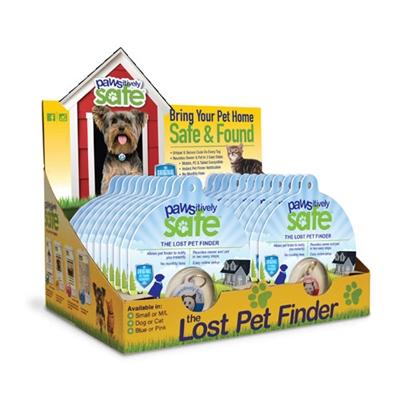 Platinum Pets Pawsitively Safe Pet Finder Tag Case (25 Units)