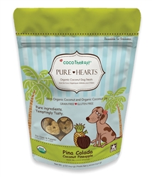 Pure Hearts Coconut Cookies Pina Colada