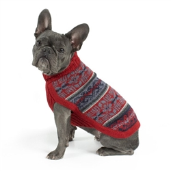 Alpaca Andean Poetry Sweater
