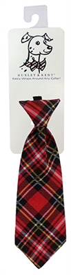 Red Stewart Long Tie by Huxley & Kent