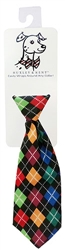Huxley & Kent - Multi Argyle Long Tie