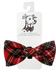 Huxley & Kent - Red Stewart Bow Tie