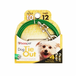 Boss Pet Small Dog Tie-Out 12'