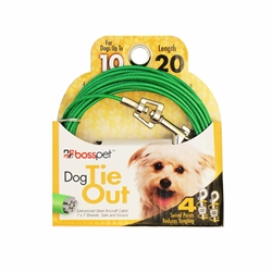 Boss Pet Small Dog Tie-Out 20'
