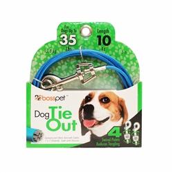 Boss Pet Medium Dog Tie-Out 10'