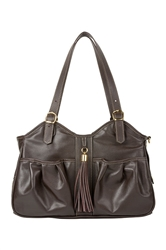 Metro - Chocolate Brown w/ Tassel
