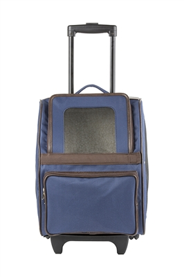 RIO Classic - Navy Rolling Carrier On Wheels