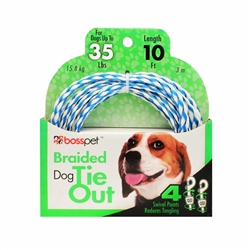 Boss Pet 10' Poly Rope Tie-Out