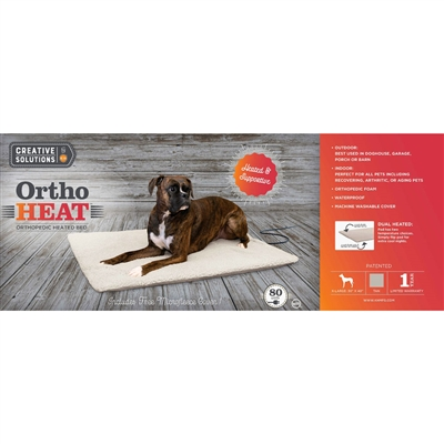 Ortho Heat Indoor / Outdoor Heated Bed - Creative Solutions by K&H