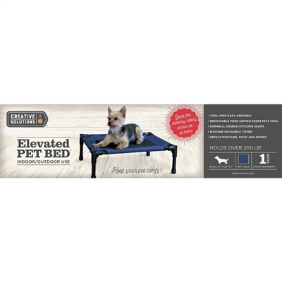 Elevated Indoor / Outdoor Pet Bed - Creative Solutions by K&H