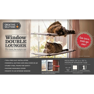 Window Double Lounger™ - Creative Solutions by K&H