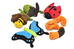 Bugging Out Plush Toys (15 pc with FREE Merchandising Display)