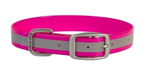KOA Reflex Pink Reflective Collar