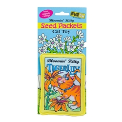Tiger Lily Seed Packet Cat Toy - Bloomin Kitty Toys