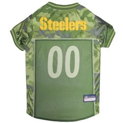 Pittsburgh Steelers Dog Jersey  - CAMO