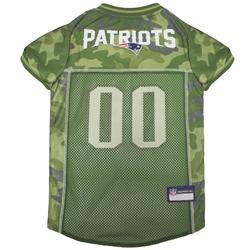 New England Patriots Dog Jersey  -  CAMO