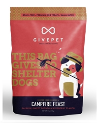 GivePet Dog Treats Campfire Feast 12 Oz.