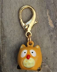 Golden Owl Charms