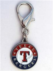 MLB™ Licensed Texas Rangers Pennant Collar Charm