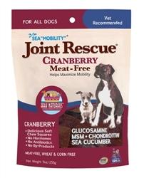 """Ark Naturals Sea """"Mobility"""" Joint Rescue Cranberry Dog Treats, 9-oz bag"""