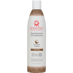 Coconut Papaya Dog Shampoo & Conditioner in One (13.5 oz)