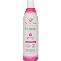 Geranium Sage Dog Shampoo & Conditioner in One (13.5 oz)