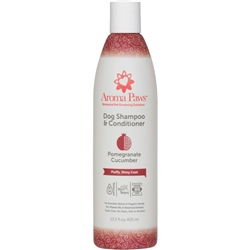 Pomegranate Cucumber Dog Shampoo & Conditioner in One (13.5 oz)