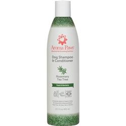 Rosemary Tea Tree Dog Shampoo & Conditioner in One (13.5 oz)