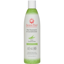 Hypoallergenic & Fragrance Free Dog Shampoo & Conditioner in One (13.5 oz)