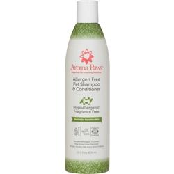 Allergen Free Pet Shampoo Dog Shampoo & Conditioner in One (13.5 oz)