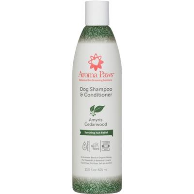 Organic Olive Amyris & Cedarwood Dog Shampoo & Conditioner in One (13.5 oz)