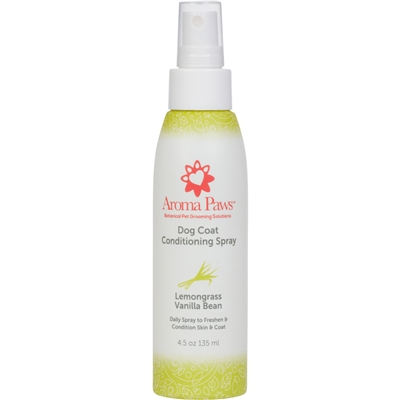Lemongrass Vanilla Bean Dog Coat Spray (4.5 oz)