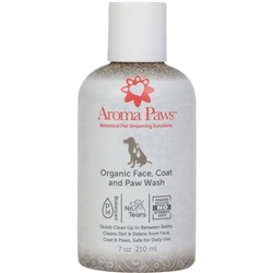 Organic Face, Coat & Paw Wash (7.0 oz)