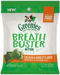 GREENIES BREATH BUSTER BITES CHICKEN 1.2OZ