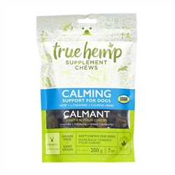 True Hemp CALMING Supplement Chews for Dogs - 7oz