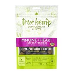 True Hemp IMMUNE+HEART Supplement Chews for Dogs - 7oz