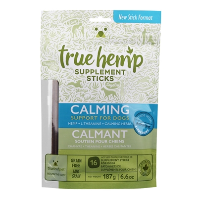 True Hemp CALMING Supplement Sticks for Dogs - 6.6oz