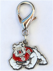 Fresno State Bulldogs Dog Collar Charm