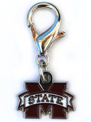 Mississippi State Collar Charm