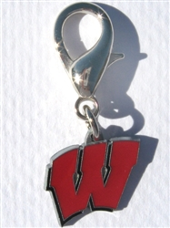 University of Wisconsin Badgers Collar Charm
