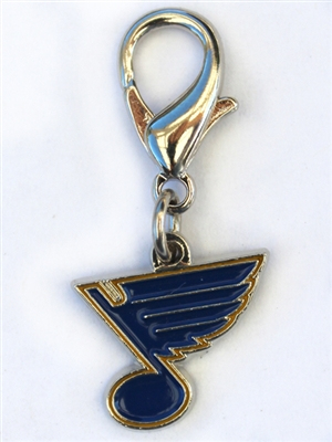 St. Louis Blues Dog Collar Charm