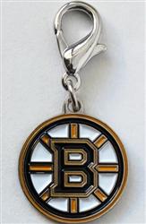 Boston Bruins Dog Collar Charm