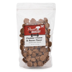 Cheddar Cheese & Bacon Flavored Chewies Dog Treats, 16oz. bags