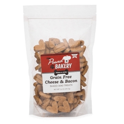 Grain Free Cheese & Bacon Flavored Dog Treats, 12oz. bags